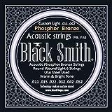Black Smith 11-52 Jeu de cordes pour Guitare acoustique