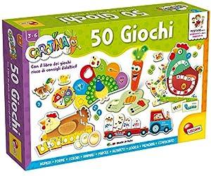 Lisciani Giochi - 76710 - Juego para niños Carotina, bolígrafo parlante, 50 Juegos