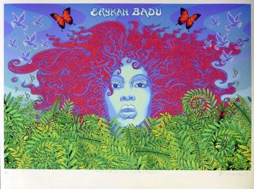 Erykah Badu Earth Day