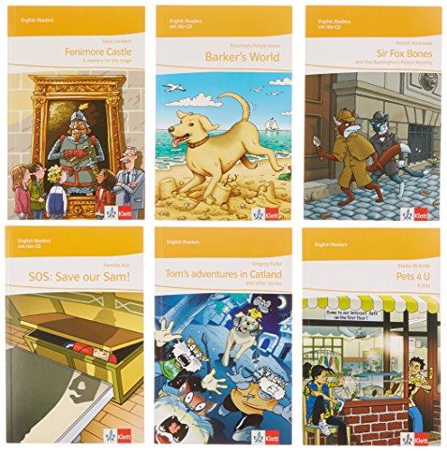 Klassenbibliothekspaket Klasse 5: 6 Lektüren zur Ausleihe an Ihre Schülerinnen und Schüler Klasse 5 (English Readers)