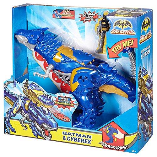 Unbegrenzte Batman - Batman & Figures Cyberex (Power Rangers Weihnachten)