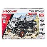 Meccano - 25 Models Set - 4x4 Off-Road Truck