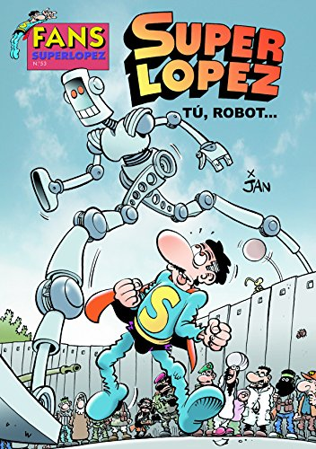 Superlópez se ha de enfrentar en esta ocasión a un robot que está causando destrozos por donde pasa. Ha sido programado para defender a los humanos, pero no identifca como tales a trafcantes de drogas, explotadores de la naturaleza y otra serie de in...