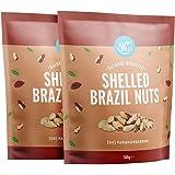 Marchio Amazon - Happy Belly Noci del Brasile sgusciate, 2 x 500g
