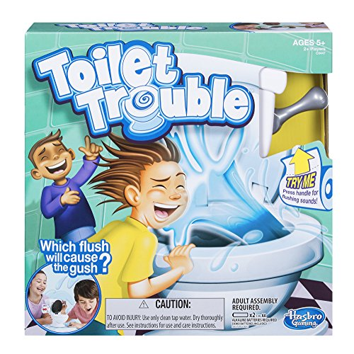 Toilet Trouble Game – Pipi Party [UK Edition]