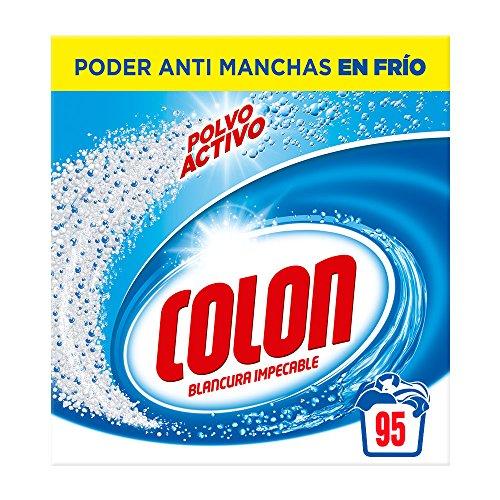 Colon Detergente para Lavadora de Ropa en Polvo Activo 95 dosis