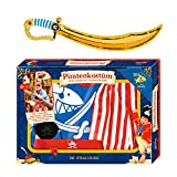 Spiegelburg Capt`n Sharky 2er Set 12426 12924 Piratenkostüm + Säbel