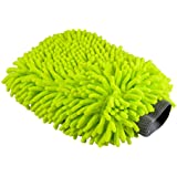Chemical Guys MIC_493 Chenille Microfiber Premium Scratch-Free Wash Mitt, Lime Green, Regular