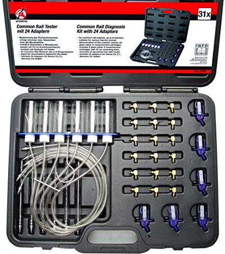 Preisvergleich Produktbild Kraftmann Common Rail Tester mit 24 Adaptern, 8106
