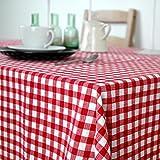 QIANG AF Karo couchtisch fabric tischtuch garten restaurant tischtuch-A 90x140cm(35x55inch)