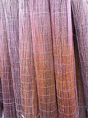 Weidenmatte Premium Weidematte 140 x 500 cm Sichtschutzmatte Weidenzaun Gartenzaun Windschutzmatte von Bambus-Internethandel Leipzig bei Du und dein Garten