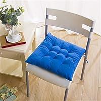 Nicole Knupfer Lot de 4 coussins de siège rembourrés pour intérieur extérieur, jardin, terrasse, cuisine et chaises de…