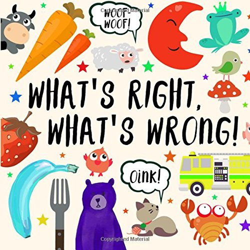 What's Right, What's Wrong!: A Fun Guessing Game for 2-4 year olds por Jeffrey Pickles