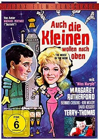 Auch die Kleinen wollen nach oben (The Mouse On The Moon) - Erfolgreiche Komödie mit Margaret Rutherford ( Miss Marple ) und Terry-Thomas (Pidax (Miss Marple Margaret Rutherford Dvd)