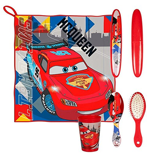 Made in Trade- Cars Trousse DE Toilette, 2500000503