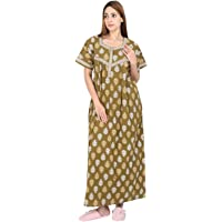 NIGHTY HOUSE Womens Cotton Night Gown (L - 4X)