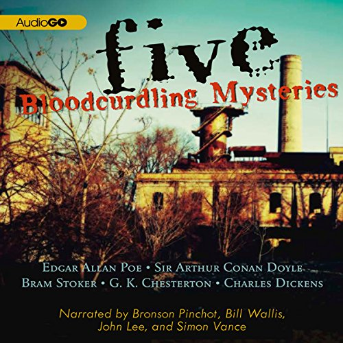 Five Bloodcurdling Mysteries  Audiolibri