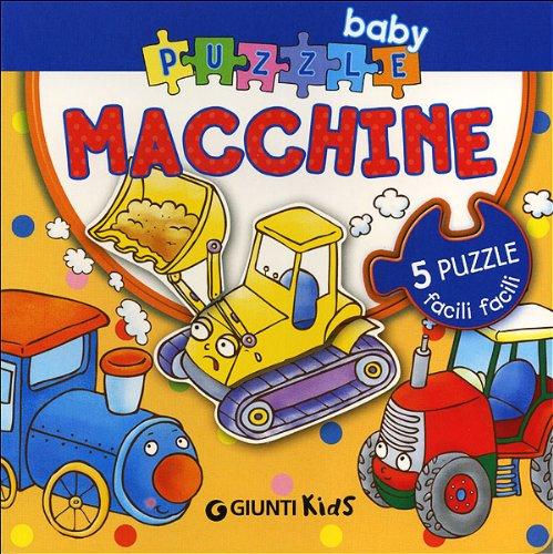 Macchine. Ediz. illustrata. Con 5 puzzle