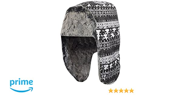 23339dd0b74a4 adidas Performance Women's Fur Uschank Russian Trapper Hat - One Size:  Amazon.co.uk: Clothing