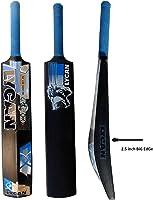 LYCAN Stunner Bigger Edge Full Size Hard PVC and Plastic Cricket Bat (2.5-Inch)