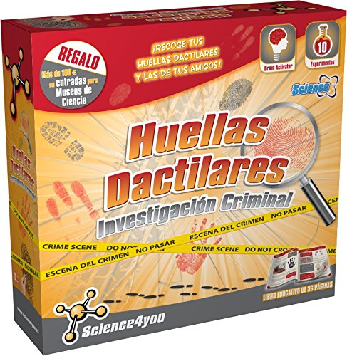 Science4you - Huellas dactilares con 7 experimentos (856)