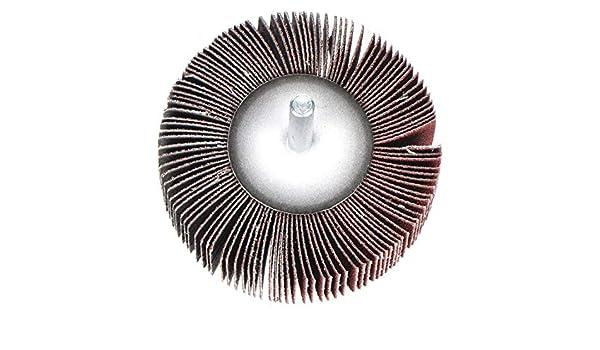 ARC ABRASIVES 11139Z5 Flap Wheel,AO,3//4x3//4x1//4 In Shank,80G
