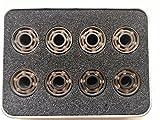 FCZC 16 PCS 608 roulements en céramique à Rouleaux à Grande Vitesse Roulements à roulettes Blancs