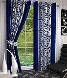Beautiful Kolaveri Design Dark Blue Colo...