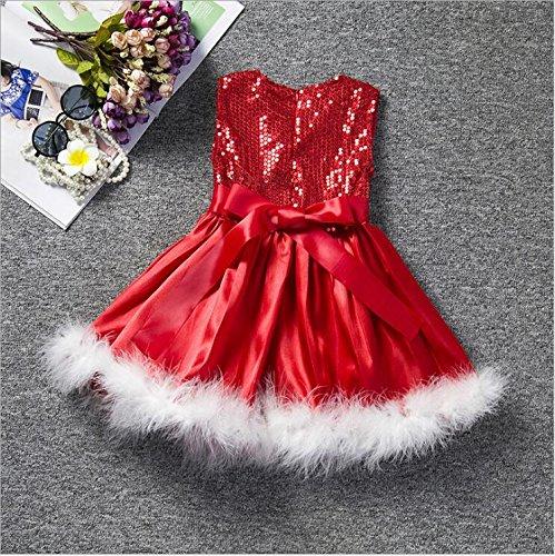 Mädchen Weihnachten Custume, Priness Kleider für Fancy Party Hochzeit Festzug Party Kleid Kostüm Outfit, weiß