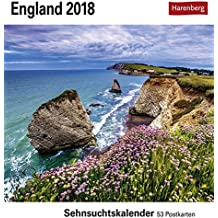 England - Kalender 2018: Sehnsuchtskalender, 53 Postkarten
