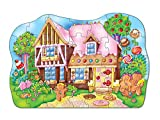 Enlarge toy image: Orchard Toys Gingerbread House Floor Puzzle -  preschool activity for young kids