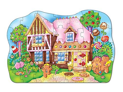 Imagen principal de Orchard Toys - Puzle (35 piezas), diseño de casa de golosinas