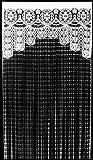 Fadenvorhang Romance in verschiedenen Farben zur Auswahl, Breite x Höhe: 92 x 250 cm, Material: 100 % Polyester, beliebig zu kürzen, Tunneldurchzug, Türvorhang auch als Insektenschutz für Balkontür, Farbe:weiß