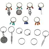 Lurrose 2 Sets Dreadlock Beads Pinzas para El Cabello Anillos Decorativos para El Cabello Diy Accesorios para Trenzas de Cabe