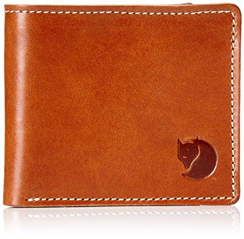 FJÄLLRÄVEN Övik Wallet, Zaino Unisex-Adulto, Marrone (Leather Cognac), 15 Centimeters