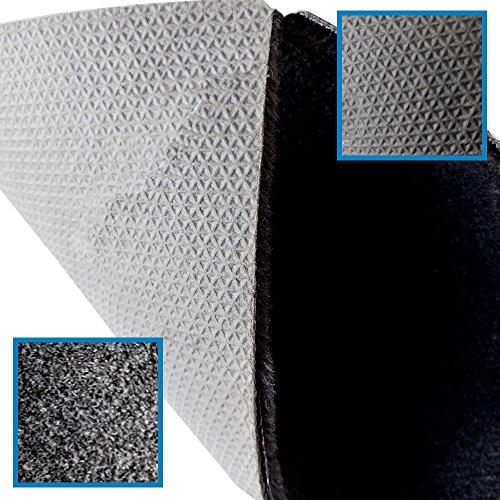TAPPETINI tappeti FIAT PANDA su misura con 4 ricami  battitacco gomma