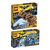 The Lego Batman Movie 2er Set 70901 70904 Mr. Freeze Eisattacke + Clayface Matsch-Attacke