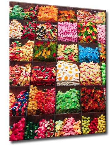 Süßigkeiten Gummibärchen Candy Lounge   Süssigkeiten Fachgeschäft   Farbe: rot   Rubrik: abstrakte-formen + technik ()