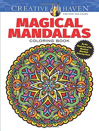 Creative Haven Magical Mandalas Coloring Book: By the Illustrator of the Mystical Mandala Coloring Book (Adult Coloring) by Alberta Hutchinson (2016-01-14) par Alberta Hutchinson;Creative Haven