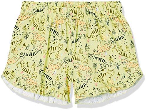 RED WAGON Mädchen Shorts Jersey Frill, Gelb, 146 (Herstellergröße: 11 Jahre) (Mädchen Gelb Shorts)