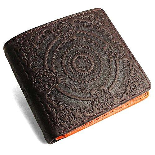 pacca pacca Portafogli Chocolate, Orange taglia unica