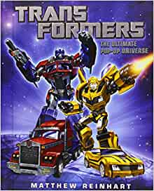 Amazon Fr Transformers The Ultimate Pop Up Universe Matthew