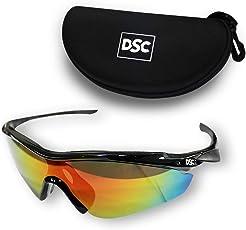 DSC Passion Polarized Cricket Sunglasses (Multicolour)