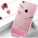 Surakey Kompatibel mit iPhone SE Hülle,iPhone 5S Hülle,iPhone SE Hülle Glitzer,Crystal Case Hülle Silikon Schutzhülle…