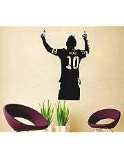 DecorVilla Messi Wall Sticker and Decal (PVC Vinyl, 50x 73 cm)