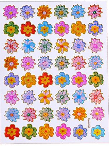 Adesivi fiori stickers fiori bambini Stickers fogli