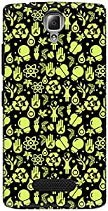 The Racoon Grip printed designer hard back mobile phone case cover for Lenovo A2010. (Recycle Bl)