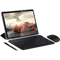 SUMTAB 4G LTE Tablet 10 pollici con Tastiera,Android 9.0,4GB RAM, 64 GB ROM,IPS 1280*800,2MP+5MP Doppia Fotocamera,GPS, WiFi, Bluetooth
