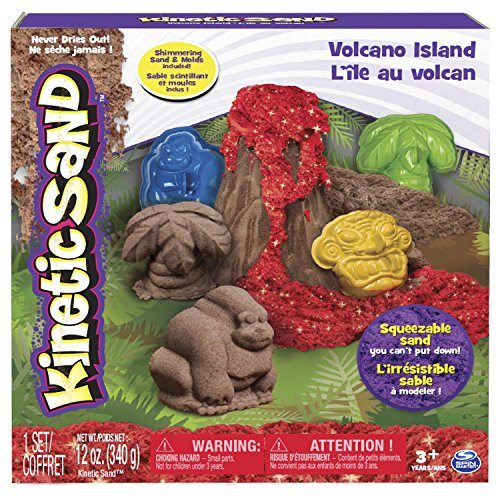 Kinetic Sand Volcano Island Set