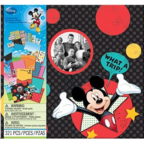 EK Success Brands Disney Scrapbook Kit, Mickey Travel by EK Success Brands - Disney Scrapbook Kit